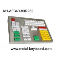 Buy cheap R232 Interface Panel Customization Industrial Metal Keyboard For Transportation Area from Wholesalers