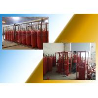 Quality Clean Gas Fm 200 Extinguishing System Preparation For Storage Room wholesale