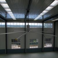 China Low Power Large Warehouse Industrial Ceiling Fan Factory 24'' HVLS , 53rpm Speed factory