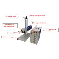 Buy cheap Copper Brass Aluminum Laser Marking Machine 20W/30W 0.01mm Repeated Accuracy from Wholesalers