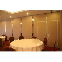 China Apartment / Hotel Movable Folding Partition Walls Insulation Energy Saving on sale