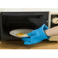 Buy cheap Household Silicone Oven Gloves For Cooking , High Temperature Resistant from Wholesalers