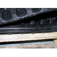 China Kubota Kc60 Excavator Rubber Tracks With Kevlar Fiber Steel Cord Structure factory