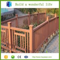Buy cheap HEYA waterproof crack-resistant eco wpc fence panel price list from Wholesalers