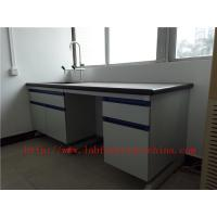 China Resistant To  strongest Corrosion /  Acid / Alkali 3000 mm Blue  Science Computer Lab  Furniture  Designs  For  Laborato on sale