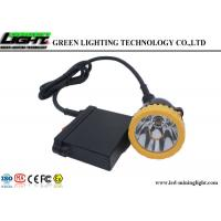 Buy cheap Hunting Light GL6-B A LED Miners Cap Lamp High Brightness Rechargeable Battery from Wholesalers