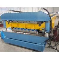 Buy cheap 1200mm Width Metal Sheet Forming Machine With Roll Forming Device 380V from Wholesalers