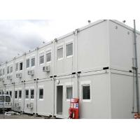 Buy cheap 40 Ft Shipping Container Steel Structure Villa Office Double Storey In White from Wholesalers
