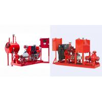 Buy cheap Diesel Engine End Suction Fire Pump With Eaton Cotroller UL FM EN12845 CCCF Standards from Wholesalers