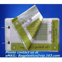 China Stationery bags, stapled bag, staples, wicketed poly bag, apparel bag, ice bag, apple bags factory