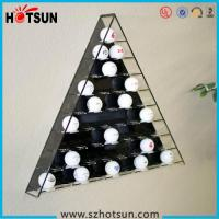 China Hot sale retail acrylic golf ball display case/golf ball display boxes/golf ball display rack factory