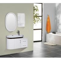 Quality Round type 15mm PVC Material ceramic vanity top with integrated sink 90 X 45 / cm for sale