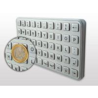 AMT stainless metal keyboard used for self-service machine