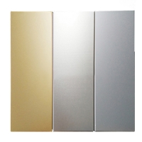 China 1220 X 2440mm Anodized Brushed 7075 Aluminum Plate factory