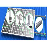 Buy cheap Vertical Flat Roof Mounting System High Anodized Aluminum Extrusion Frame from Wholesalers
