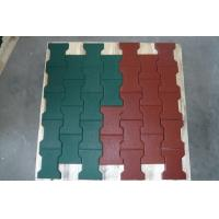 China Non Toxic Playground Ground Cover Rubber Mat Flexible Noise Reduction factory