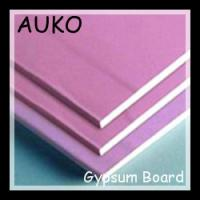 China Interior design, Perforated fire resistant plasterboards - gypsum boards on sale