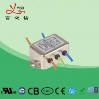 China 10A Electrical DC Line Noise Filter ISO9001 Certification OEM Service factory
