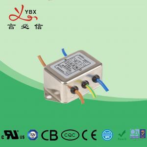 China Single Phase DC Line Noise Filter , Refrigerator EMI RFI Power Line Filter factory