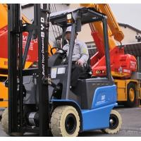 China AC Motor Battery Powered Forklift 1500Kg Electric Fork Truck With Solid Tires on sale