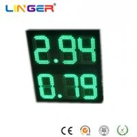 China 10 Inch Digits 8.88 Format Led Gas Price Sign , Led Price Sign For Gas Station factory