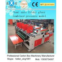 Buy cheap Easy Operation Carton Folder Gluer Machine With Pressure Press Function from Wholesalers