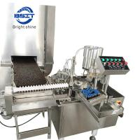 Buy cheap Oral Liquid Filling & Sealing Machine (PET bottle 10ml and 25ml) from Wholesalers