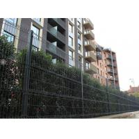 China Pvc Coated Longlife Welded Wire Fencing With Triangle V Shape On Panel on sale
