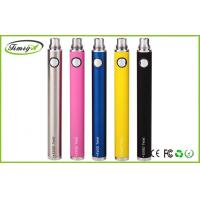 China 510 atomizers 900mah E Cigarette Rechargeable Batteries , Evod Twist Battery With Adjustable Voltage factory