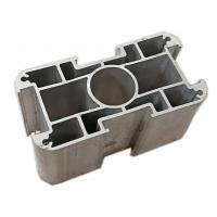 Buy cheap Corrosion Resistance Aluminum Extrusion Profiles For Doors Windows Easy Installation from Wholesalers