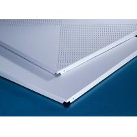 Buy cheap Perforated 600x600MM Clipped Ceiling Demountable Anti Magnetic Sterile from Wholesalers