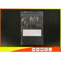 Buy cheap Damp - Proof Clear Plastic Poly Industrial Ziplock Bags For Electronic Products from wholesalers