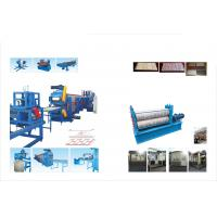 Decorative Wall And Ceiling Panel Metal Embossing Machine Continuous Line for sale