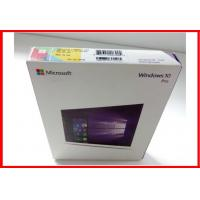 Quality Microsoft Software Windows 10 Pro Retail Box / Pro Pack  with USB flash 100% activated online OEM license wholesale