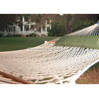 Buy cheap Lightweight Bright White Soft Spun Polyester Rope Hammock W Stand For Family Leisure Time from Wholesalers