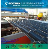 China PVCPlasticGlazedTileMachineryProduction Line/pvcPVCCorrugatedRoofingSheet Production Line factory