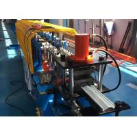 China Building Steel Rolling Door Roll Forming Machine Hydraulic Cutting PI PPGI Material on sale