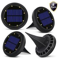 China 0.07w Solar Powered LED Ground Lights Solar Ground Buried Light Four Colors factory