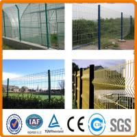 Buy cheap PVC Welded Wire Mesh Fence for yard fencing from Wholesalers