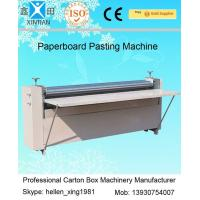 Buy cheap Corrugated Paperboard Automatic Cartoning Machine BJ Series Of Gum Mounting Machine from Wholesalers