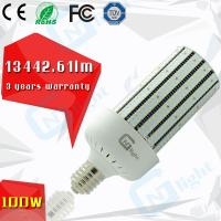 Buy cheap Parking lot gas station cobra wall pack retrofit led replacement bulbs corn 100w from Wholesalers