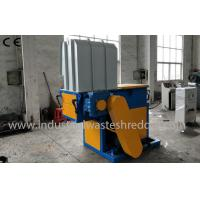 Buy cheap Single Shaft Plastic Lumps Shredder , Plastic Lump Crusher With PLC Control System from Wholesalers