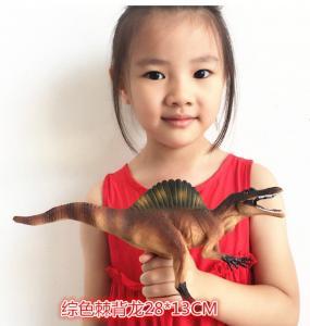 China Customized Dinosaur Model Toys L28*W7.5*H13 Plastic Jurassic Park Spinosaurus Toy factory