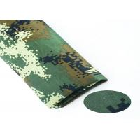 China Durable Camouflage Cotton Fabric Wrinkle Resistance For Soldier'S Garment on sale