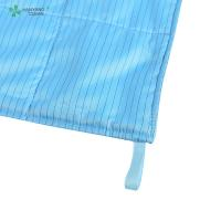 China Anti Static ESD Wipe blue color with Microfiber for class 1000 or higher cleanroom factory