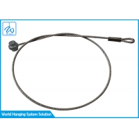 China Factory Direct Flexible 1x19 Steel Wire Rope For Light Fixture Safety Cable factory