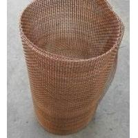China Decorative Crimped Brass/Coper Wire Mesh Used Almost Exclusively Indoors, Resistant to acid, alkali, wear, corrosion. factory