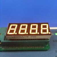 Buy cheap Four Digit 7 Segment LED Display Common Cathode 0.36 Inch With All Kind Of from wholesalers