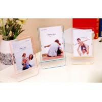 China Double sided 6x4 acrylic photo frame with magnets,magnetic acrylic photo frames factory