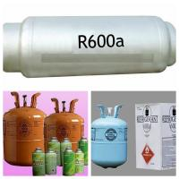 Quality Refrigerant gas r600a 99.95% purity good quality for sale